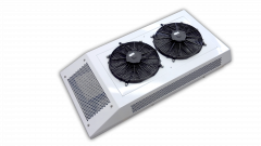 """Condenser, Rooftop, R60, (2) 14"""" Fans, Micro Channel, 12Vdc, Std Install"""